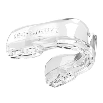 SafeJawz Intro Series Clear Mouthguard - Front