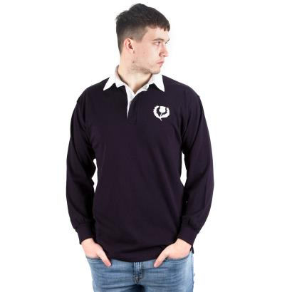 Scotland Classic Rugby Shirt L/S - Model 1