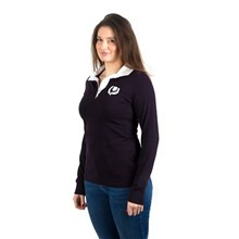 Scotland Womens Classic Rugby Shirt L/S - Model 1