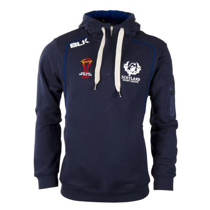 Scotland Rugby League Hoodie Navy 2018 - Front