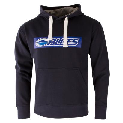 Super Rugby Blues Hoodie Navy - Front