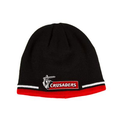 Super Rugby Crusaders Beanie Black - Front