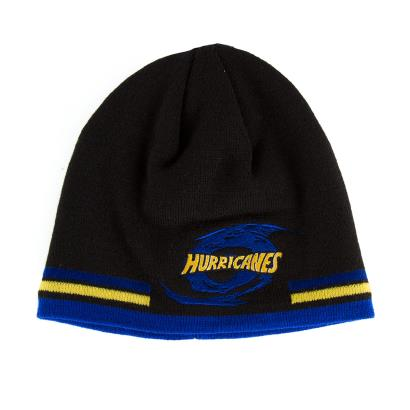 Super Rugby Hurricanes Beanie Black - Front
