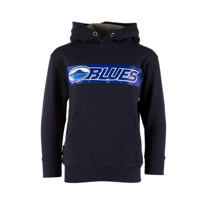 Super Rugby Blues Hoodie Navy Kids - Front