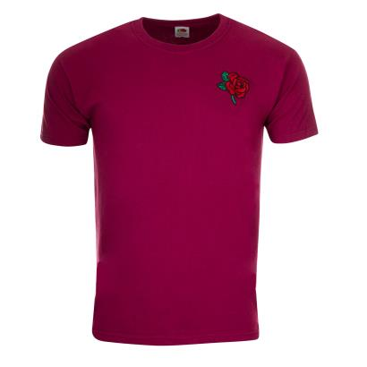England Classic Tee Burgundy - Front