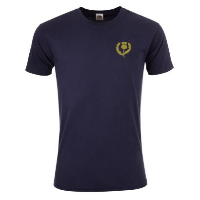 Scotland Classic Tee Navy - Front