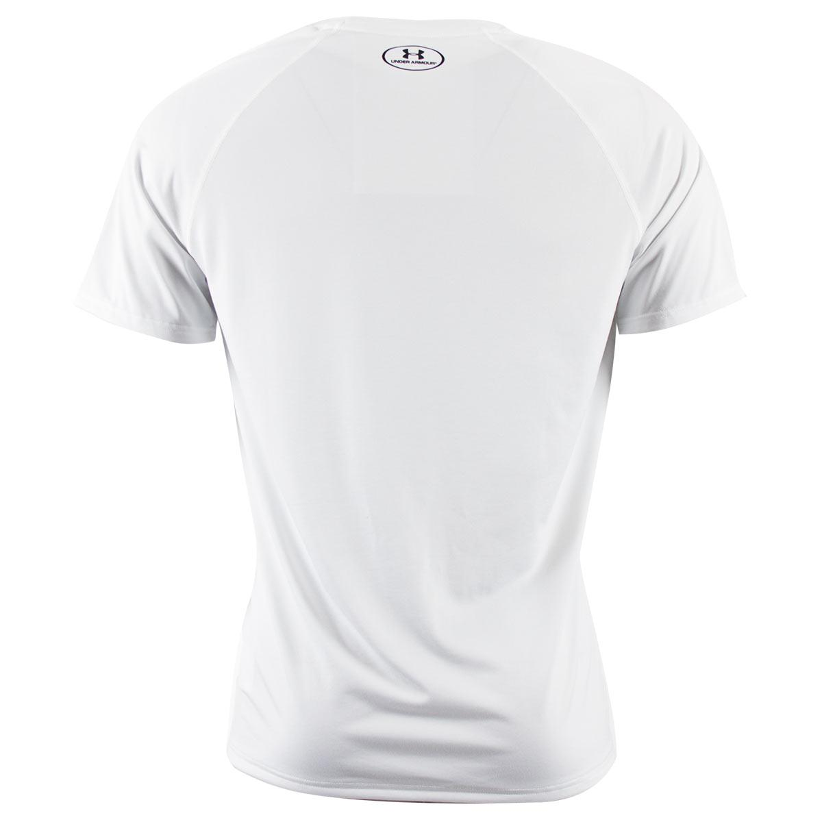 White Under Sink Bathroom Cabinet Undersink Storage: White Under Armour Heatgear Tech Tee Shirt (Short Sleeved