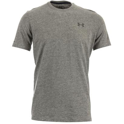 Under Armour Charged Cotton Tee Grey - Front