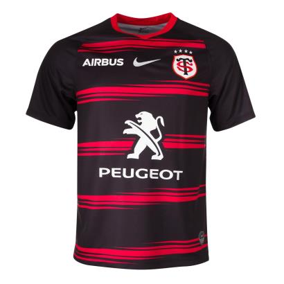Toulouse Home Rugby Shirt S/S 2021 - Front