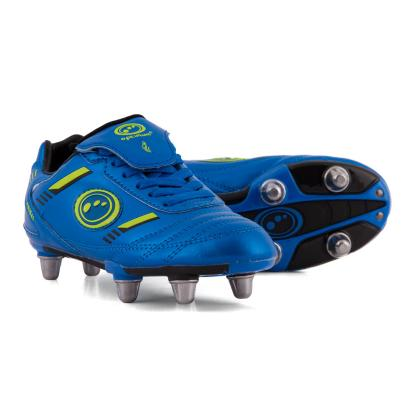 Optimum Tribal Rugby Boots Blue Kids - Front