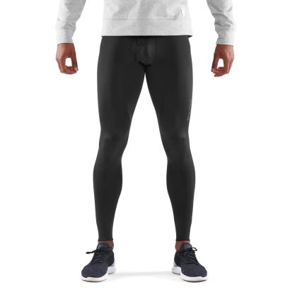 Skins DNAmic Sport Recovery Long Compression Tights Black model front