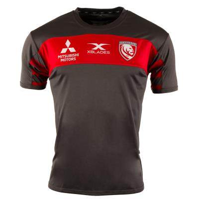 Gloucester Training Tee Black 2019 - Front