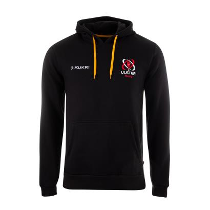 Ulster Lifestyle Hoodie Black 2021 - Front