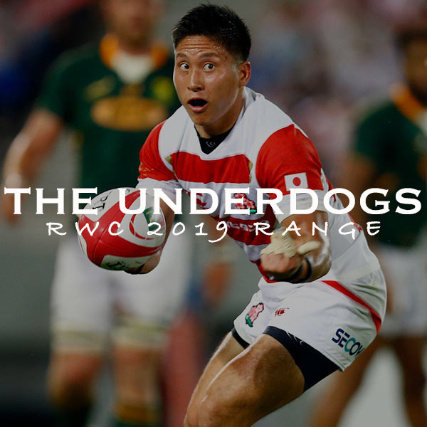 THE RWC 2019 UNDERDOGS - SHOP NOW!