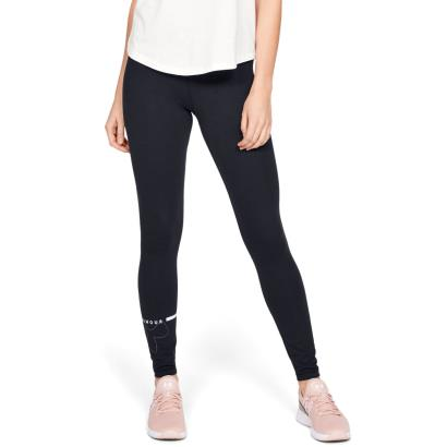 Under Armour Womens Favourite Big Logo Leggings Black - Model 1