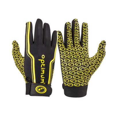Optimum Velocity Full Stik Mits Black/Yellow Kids - Front