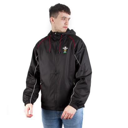 Wales Showerproof Jacket Black - Front