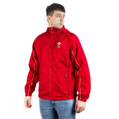 Wales Showerproof Jacket Red - Front