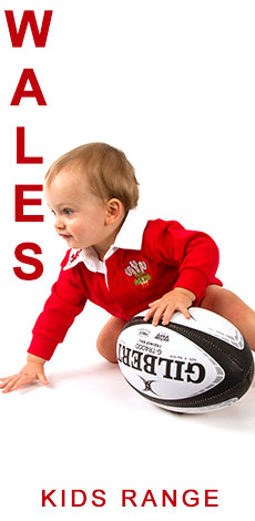 Wales Kids Range - CLICK TO SHOP NOW