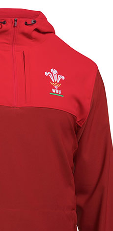 Wales Tops, Hoodies and Jackets Range