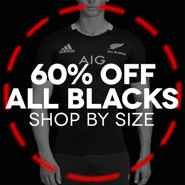 All Blacks Rugby shop by size