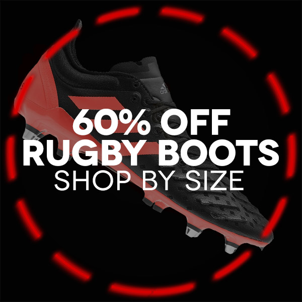 Rugby boots shop by size