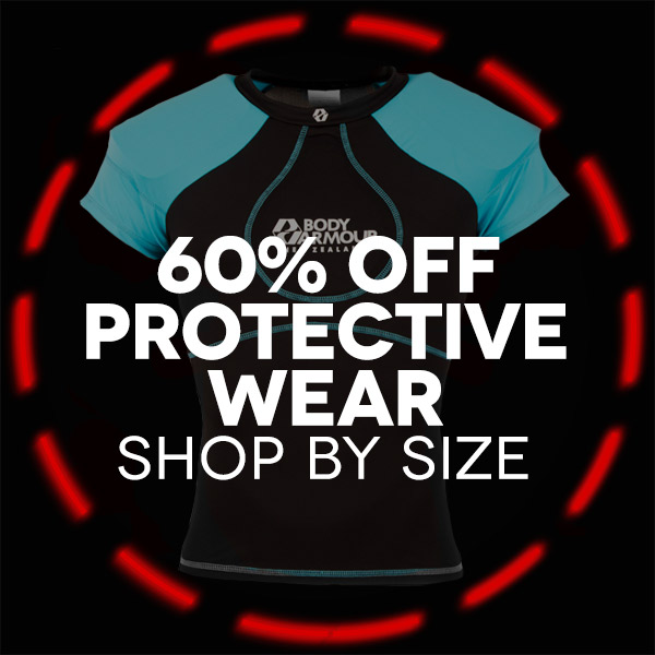 Protective Wear, Headguards & Shoulder pads shop by size