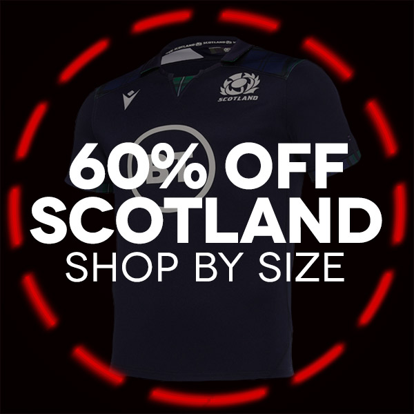 Scotland Rugby shop by size