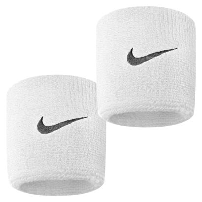 Nike Swoosh Wristbands White - Front