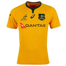 Australia Home Rugby Shirt S/S 2018 - Front