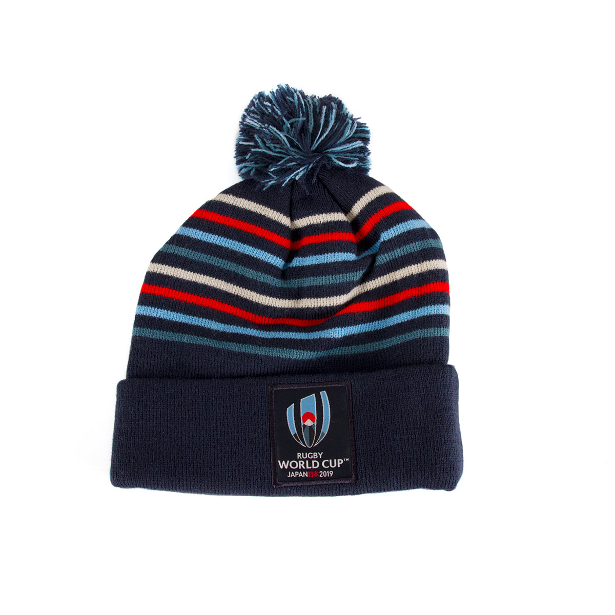 74935549e37 Canterbury Rugby World Cup 2019 Acrylic Bobble Hat Navy Blazer - Front